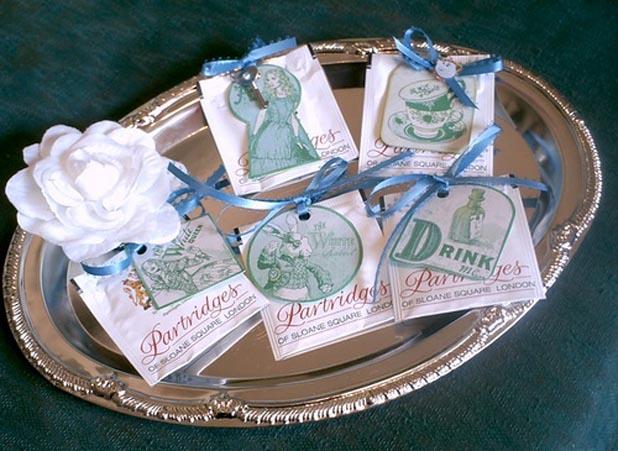 Tasting tea party invitations