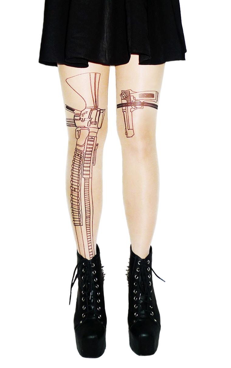 Machine Gun Stockings