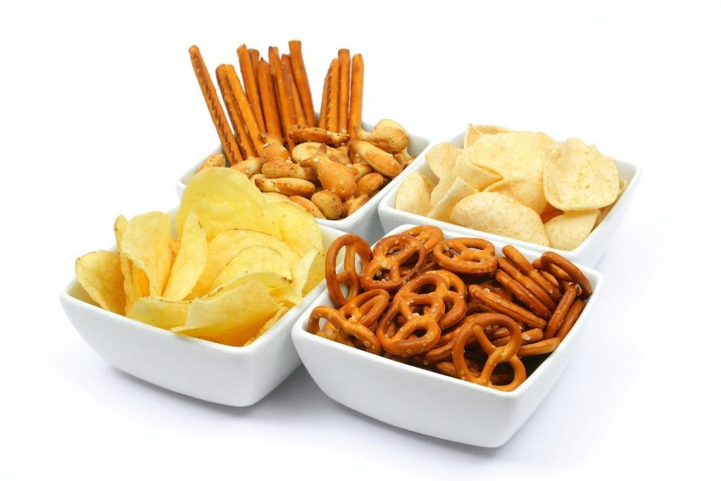bigstock-Salty-snacks-in-square-bowls-26050742