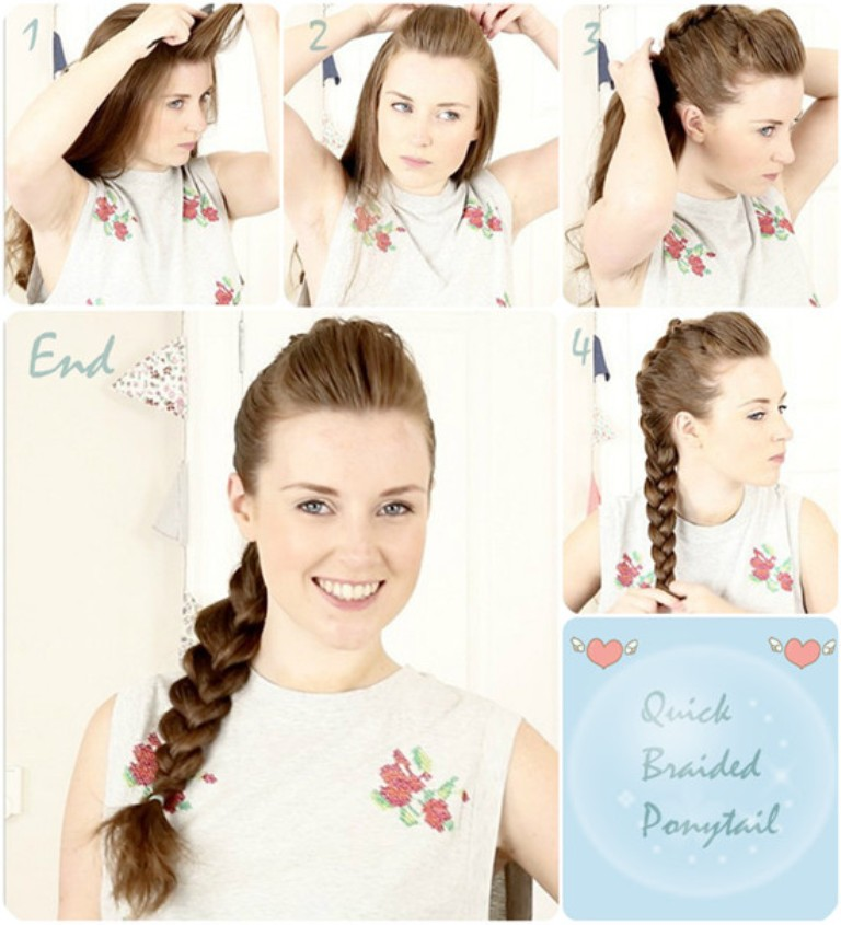 easy-and-fast-braid-ponytail-for-back-to-school-hairstyle-with-clip-on-hair-extensions
