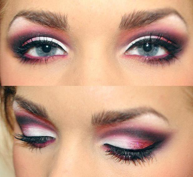 make your eyes look wider and more elegant.