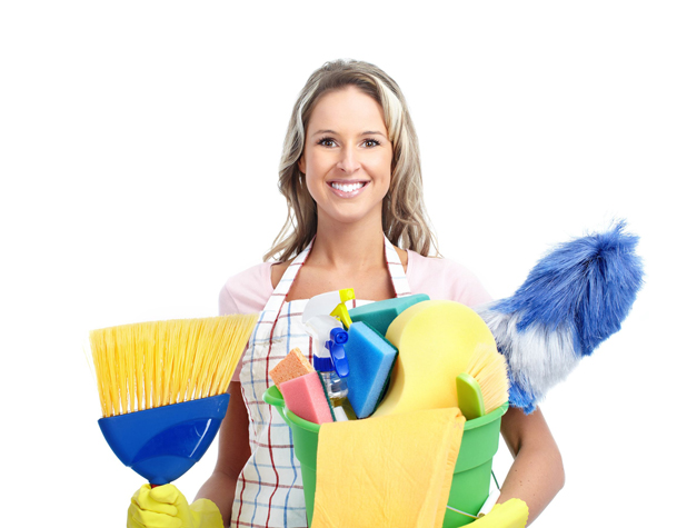cleaning at home