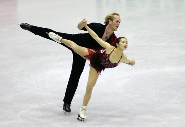 A professional skater