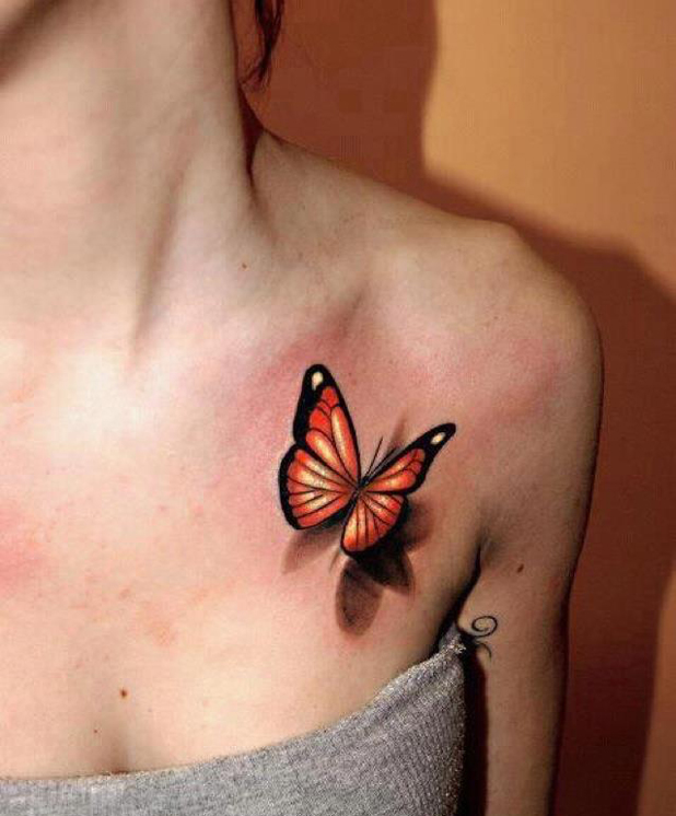 tattoo butterflies