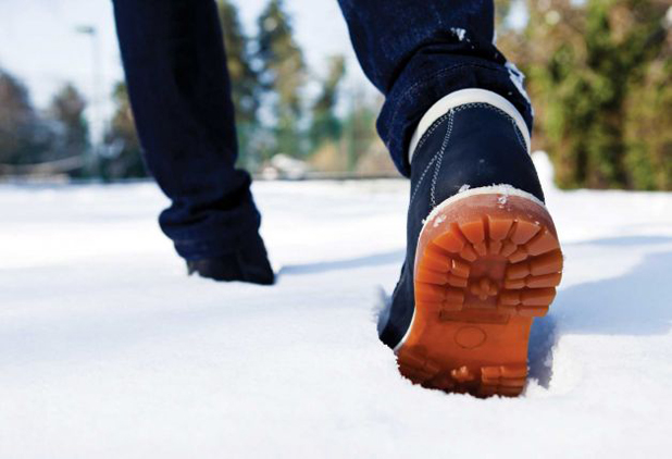 Special shoes for winter weather