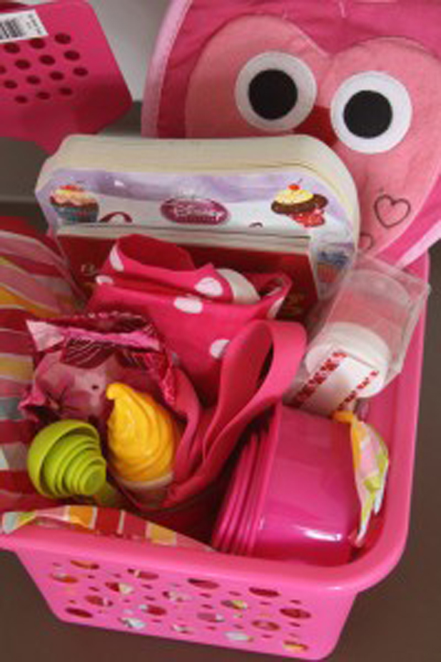 Gift basket for kids with a cooking talent