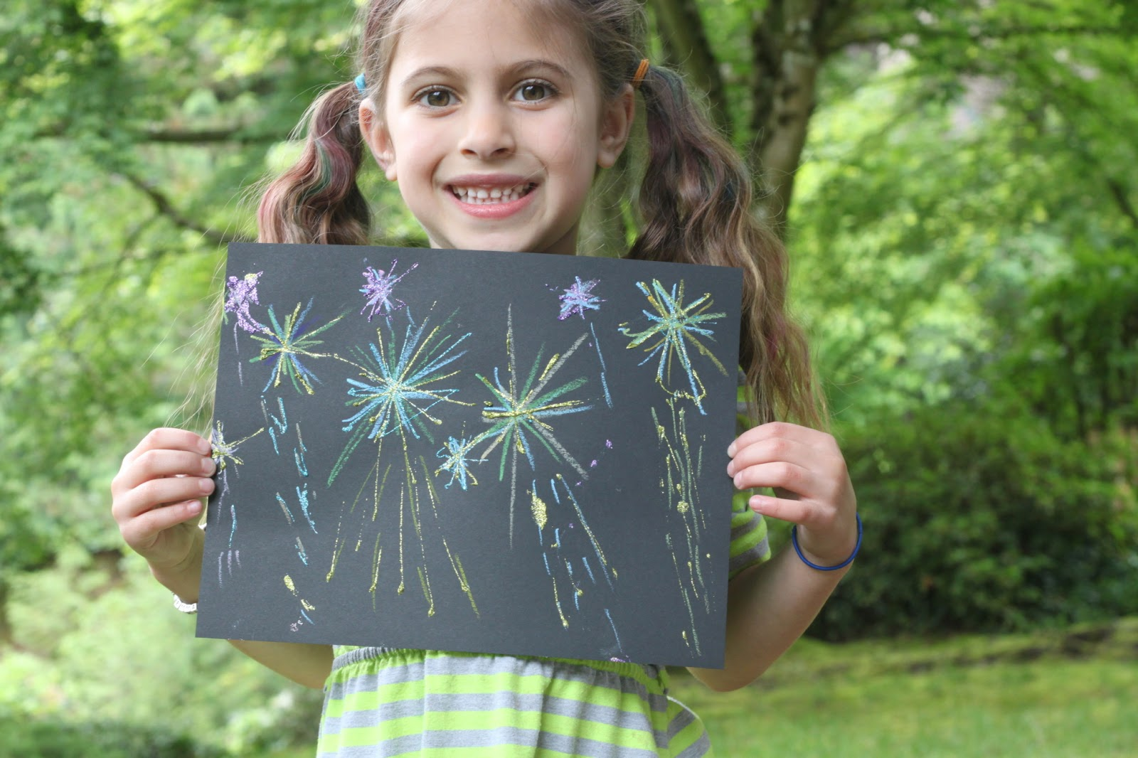 Photo of How to Draw Simple Fireworks Drawing