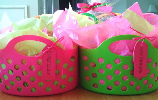 Baskets' Colors