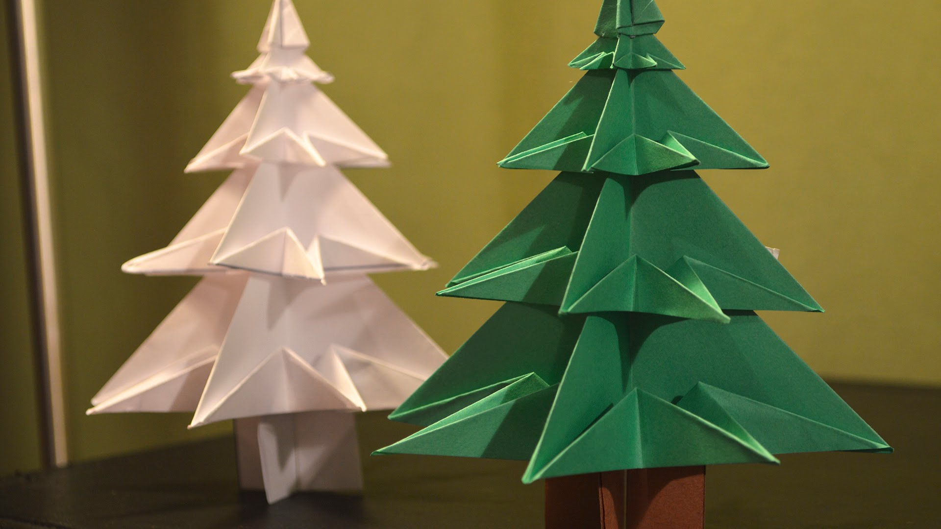 Photo of How to Make a Christmas Tree out of Paper
