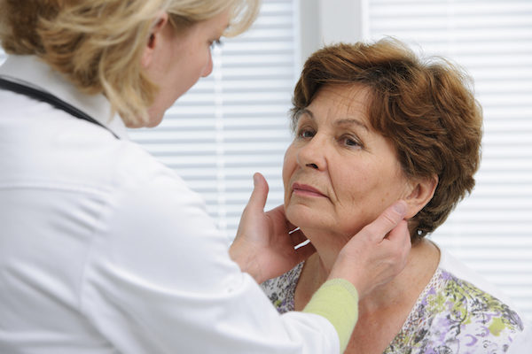weight gain suffer thyroid problem