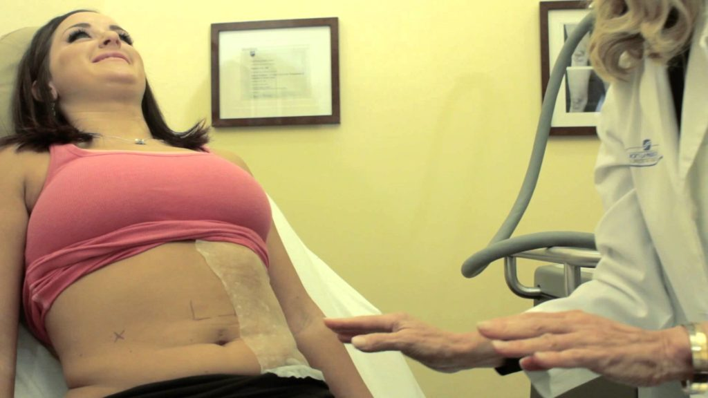 cool sculpting flat defined cold belly