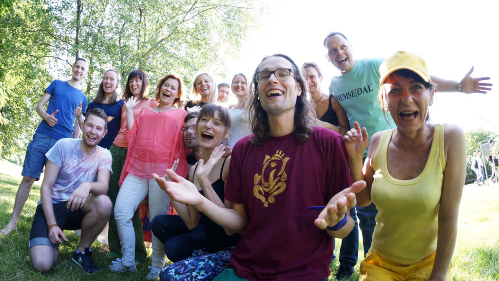 laughter yoga therapy heart good shape
